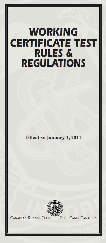 316-01-05 Working Certificate